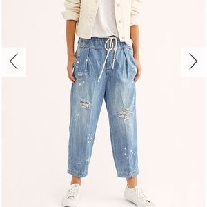 Free People Utility Jeans